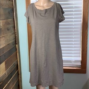 Banana Republic Capped Sleeve T-Shirt Dress